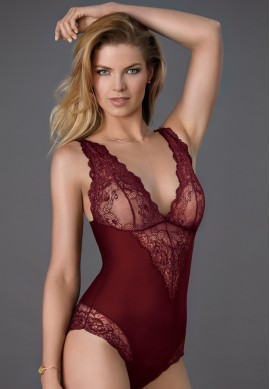 "Janira ""Greta"" Body s/m Ruby Wine"